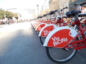 Yeah! Public bikes!