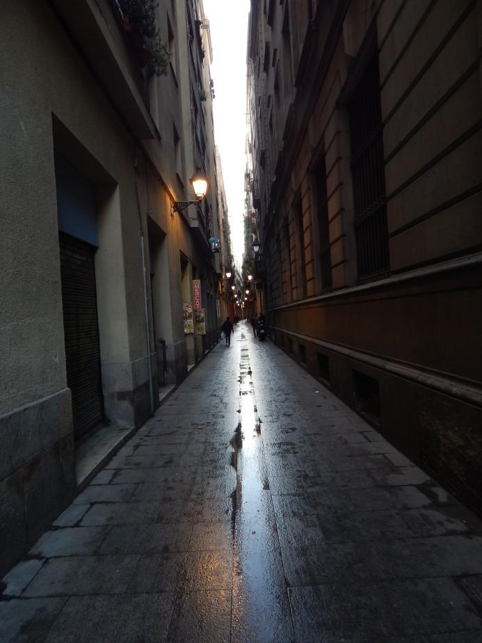 Gothic Quarter Alley